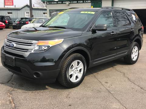 2011 Ford Explorer for sale at Capitol Auto Sales in Lansing MI