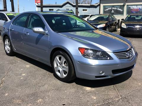 2005 Acura RL for sale at Capitol Auto Sales in Lansing MI