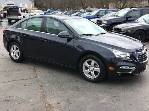 2015 Chevrolet Cruze for sale at Capitol Auto Sales in Lansing MI