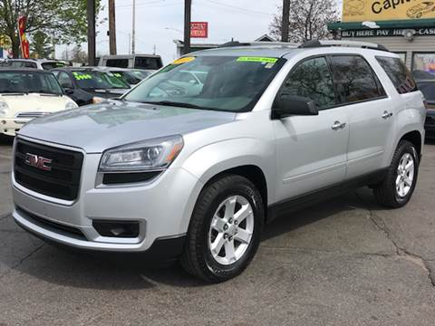 2013 GMC Acadia for sale at Capitol Auto Sales in Lansing MI