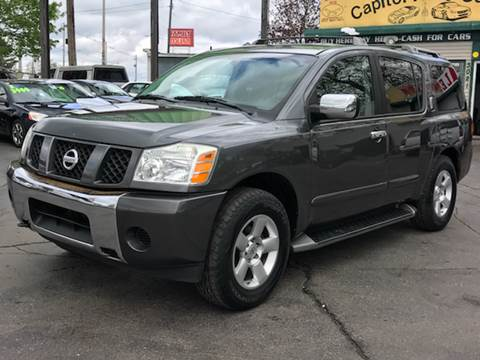 2004 Nissan Armada for sale at Capitol Auto Sales in Lansing MI