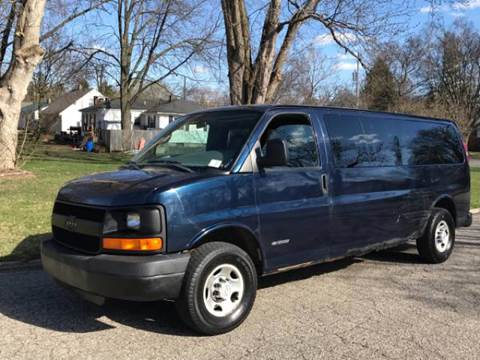2005 Chevrolet Express Passenger for sale at Capitol Auto Sales in Lansing MI