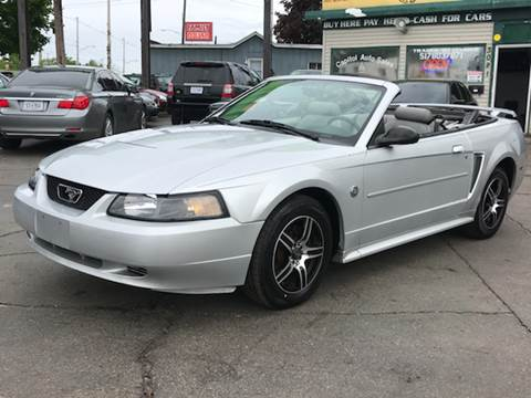 2004 Ford Mustang for sale at Capitol Auto Sales in Lansing MI