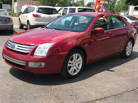 2008 Ford Fusion for sale at Capitol Auto Sales in Lansing MI
