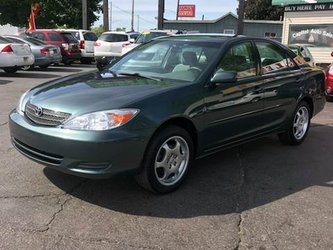 2004 Toyota Camry for sale at Capitol Auto Sales in Lansing MI