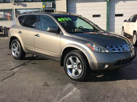 2004 Nissan Murano for sale at Capitol Auto Sales in Lansing MI