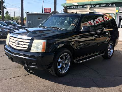 2002 Cadillac Escalade for sale at Capitol Auto Sales in Lansing MI