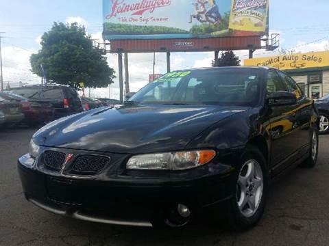 1999 Pontiac Grand Prix for sale at Capitol Auto Sales in Lansing MI