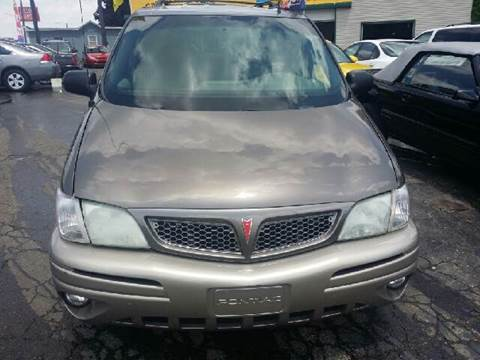 2002 Pontiac Montana for sale at Capitol Auto Sales in Lansing MI