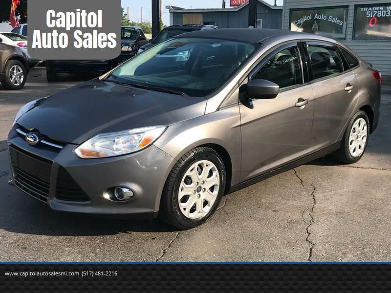 Capitol Auto Sales >> 2012 Ford Focus Se 4dr Sedan In Lansing Mi Capitol Auto Sales
