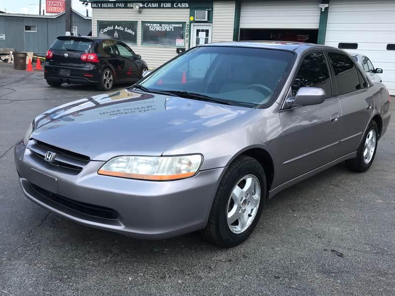 2000 Honda Accord Ex >> 2000 Honda Accord Ex V6 4dr Sedan In Lansing Mi Capitol