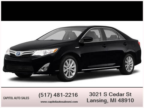 2012 Toyota Camry Hybrid for sale at Capitol Auto Sales in Lansing MI