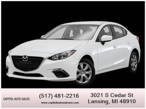 2016 Mazda MAZDA3 for sale at Capitol Auto Sales in Lansing MI