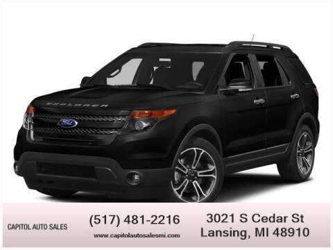 2015 Ford Explorer for sale at Capitol Auto Sales in Lansing MI