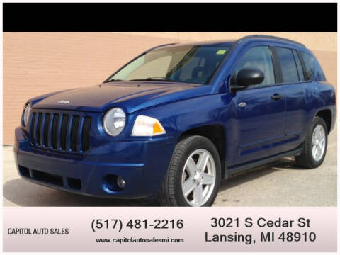 2009 Jeep Compass for sale at Capitol Auto Sales in Lansing MI