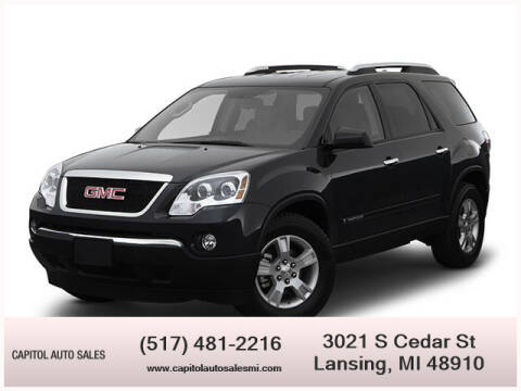 2007 GMC Acadia for sale at Capitol Auto Sales in Lansing MI