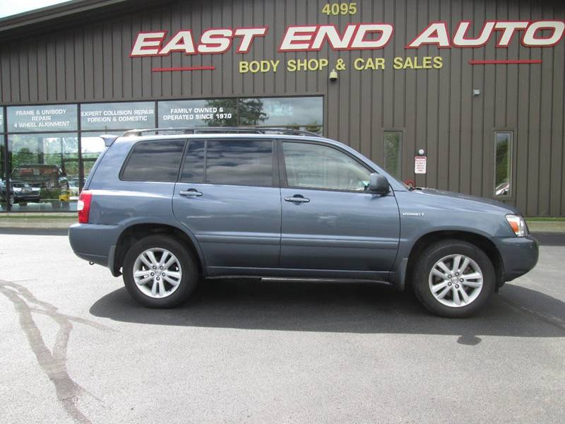 2007 Toyota Highlander Hybrid AWD 4dr SUV W/3rd Row   South Burlington VT