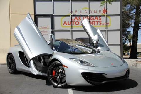 Nice 2013 McLaren MP4 12C Spider For Sale In Las Vegas, NV