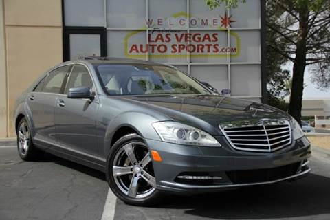 2010 Mercedes-Benz S-Class for sale in Las Vegas, NV