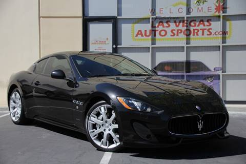 2014 Maserati GranTurismo for sale at Las Vegas Auto Sports in Las Vegas NV
