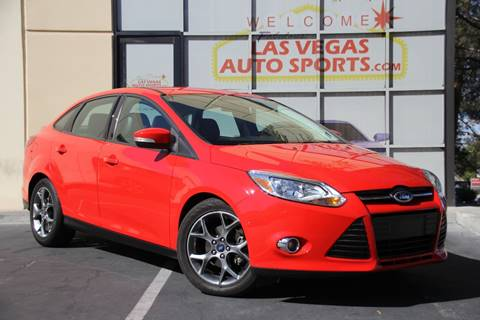 2013 Ford Focus for sale in Las Vegas, NV