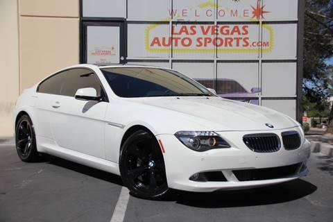 2010 BMW 6 Series for sale in Las Vegas, NV