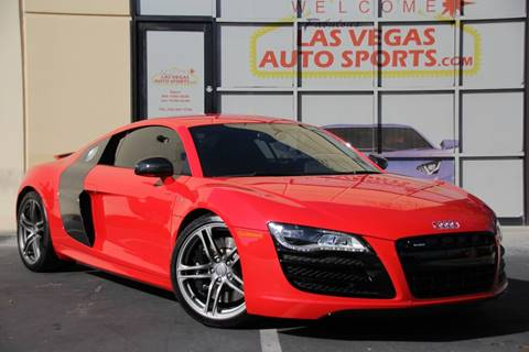 2012 Audi R8 for sale in Las Vegas, NV