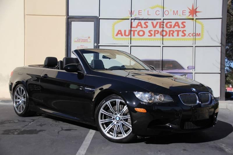 2009 Bmw M3 2dr Convertible In Las Vegas Nv Las Vegas Auto Sports