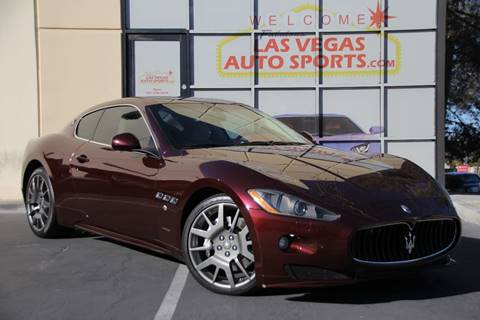 2011 Maserati GranTurismo for sale at Las Vegas Auto Sports in Las Vegas NV