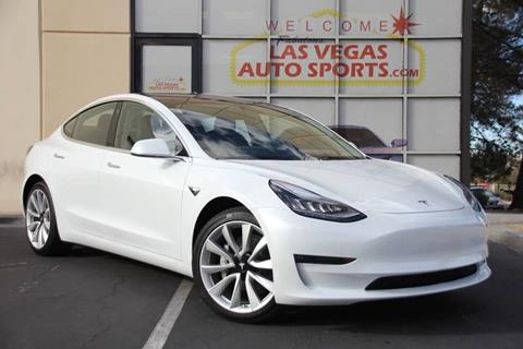 2018 Tesla Model 3 for sale at Las Vegas Auto Sports in Las Vegas NV