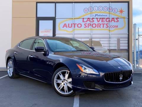 2014 Maserati Quattroporte for sale at Las Vegas Auto Sports in Las Vegas NV