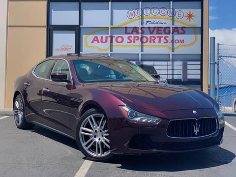 2015 Maserati Ghibli for sale at Las Vegas Auto Sports in Las Vegas NV