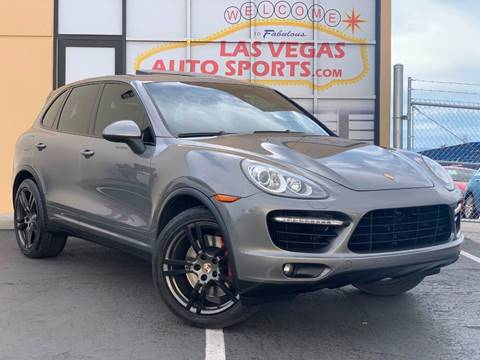 2012 Porsche Cayenne for sale at Las Vegas Auto Sports in Las Vegas NV