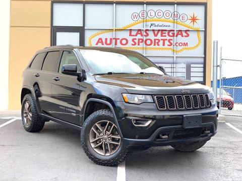 2017 Jeep Grand Cherokee for sale in Las Vegas, NV