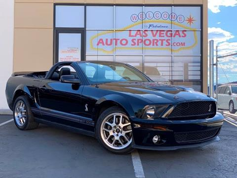 2007 Ford Shelby GT500 for sale in Las Vegas, NV