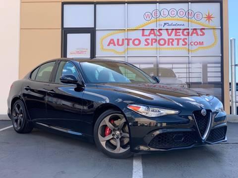 2017 Alfa Romeo Giulia for sale in Las Vegas, NV