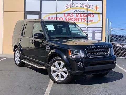 2015 Land Rover LR4 for sale at Las Vegas Auto Sports in Las Vegas NV