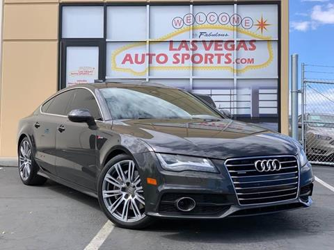 2013 Audi A7 for sale at Las Vegas Auto Sports in Las Vegas NV