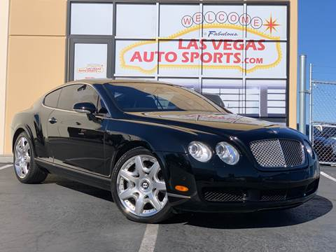 2006 Bentley Continental for sale at Las Vegas Auto Sports in Las Vegas NV