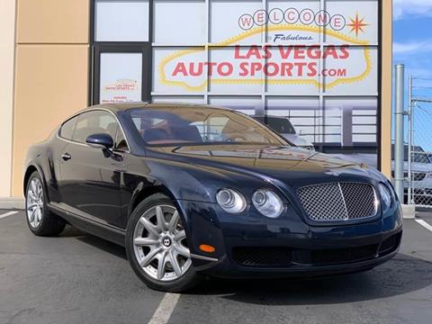 2004 Bentley Continental for sale at Las Vegas Auto Sports in Las Vegas NV