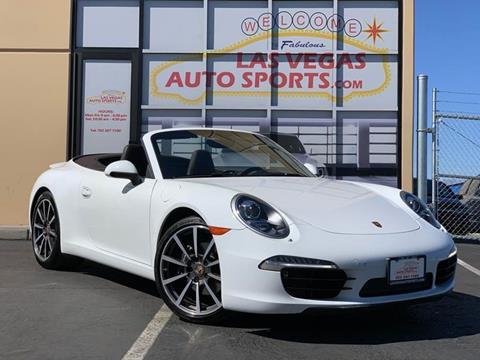 2013 Porsche 911 for sale at Las Vegas Auto Sports in Las Vegas NV