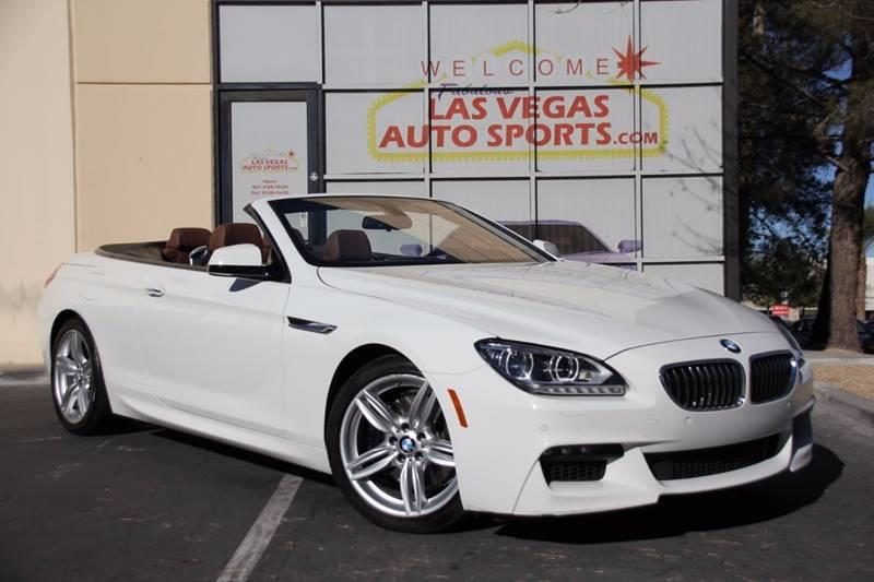 2015 BMW 6 Series for sale at Las Vegas Auto Sports in Las Vegas NV