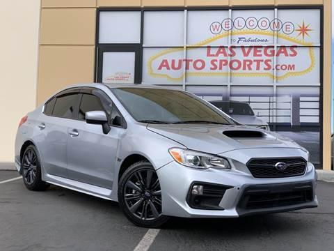2018 Subaru WRX for sale in Las Vegas, NV