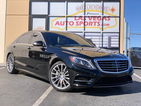 2016 Mercedes-Benz S-Class for sale at Las Vegas Auto Sports in Las Vegas NV