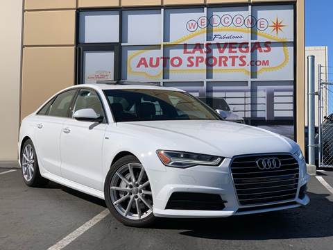 2018 Audi A6 for sale at Las Vegas Auto Sports in Las Vegas NV