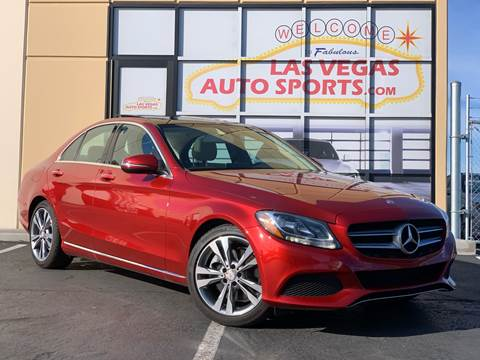 2016 Mercedes-Benz C-Class for sale at Las Vegas Auto Sports in Las Vegas NV