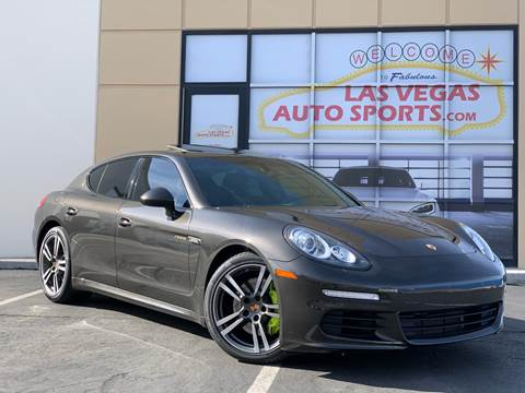 2014 Porsche Panamera for sale at Las Vegas Auto Sports in Las Vegas NV