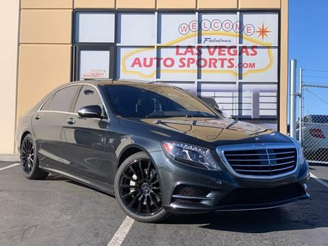 2016 Mercedes-Benz S-Class for sale at Las Vegas Auto Sports in Las Vegas NV