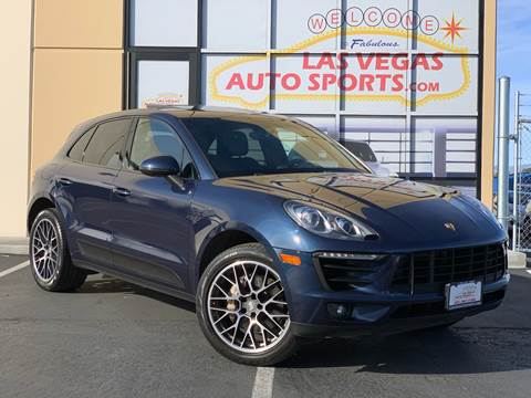 2016 Porsche Macan for sale at Las Vegas Auto Sports in Las Vegas NV