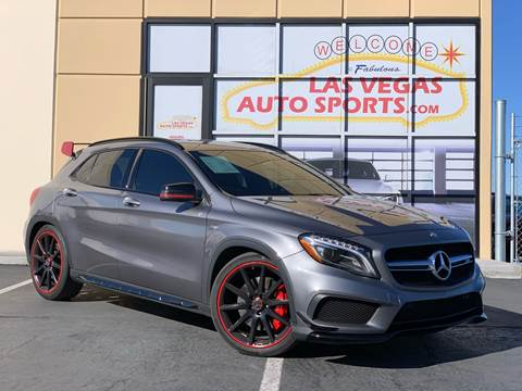 2015 Mercedes-Benz GLA for sale at Las Vegas Auto Sports in Las Vegas NV